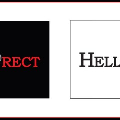 Hello Direct logo concept