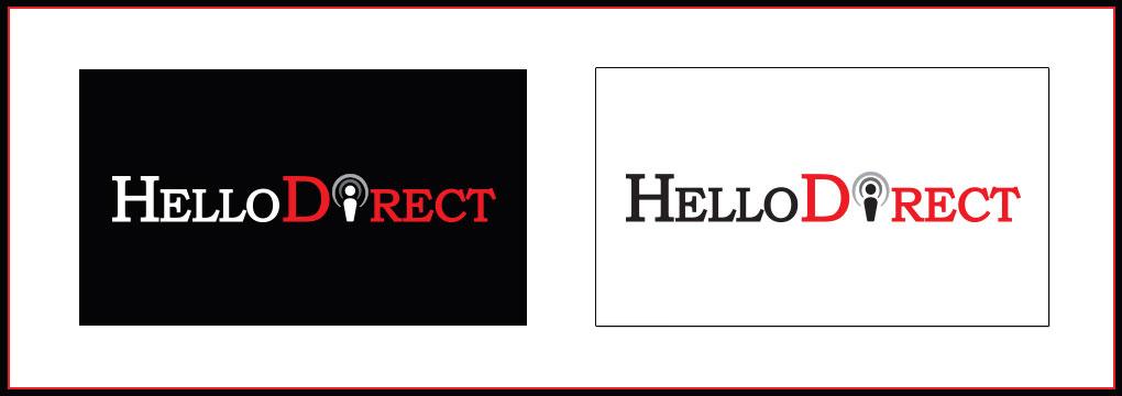 Hello Direct logo concept